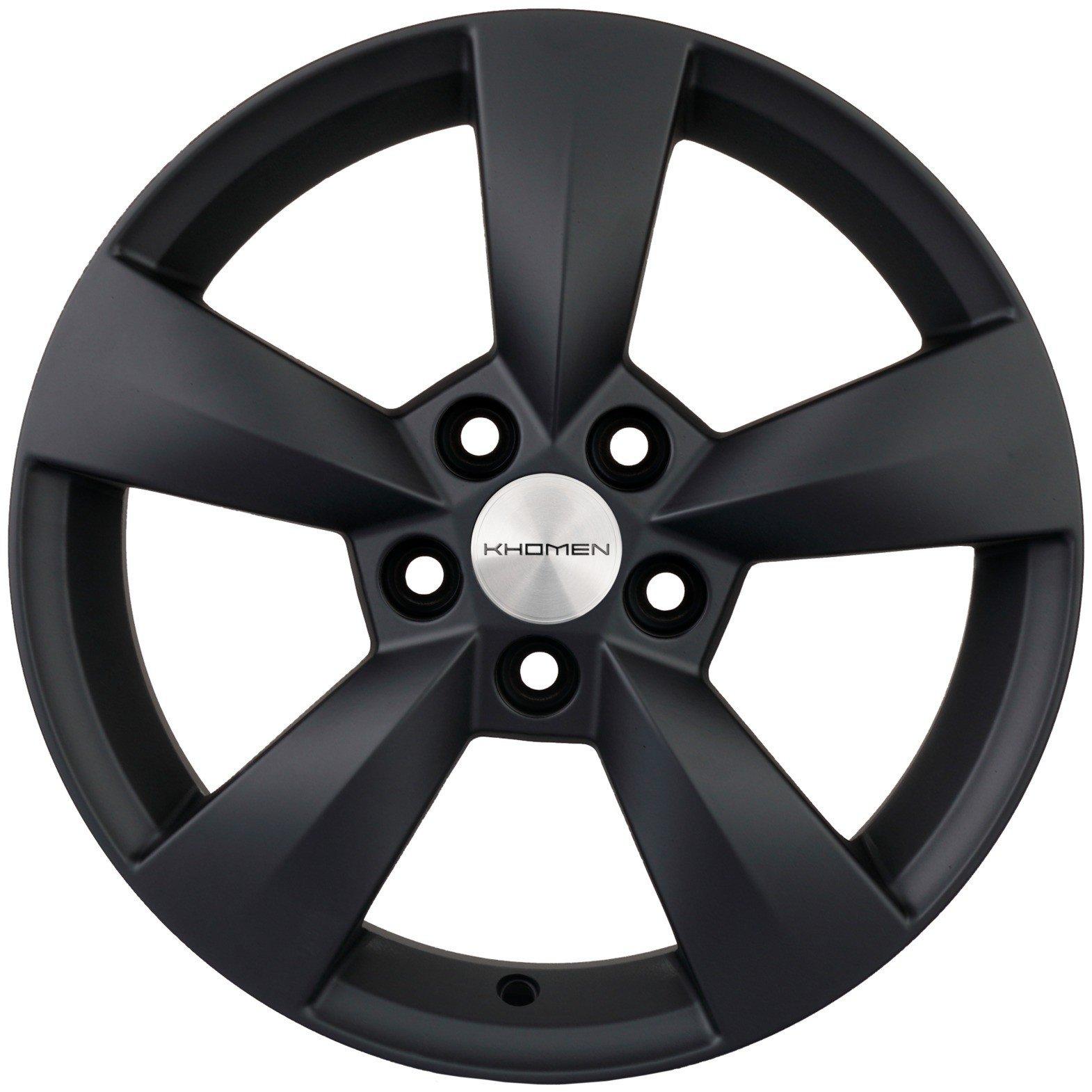 Колесный диск Khomen Wheels KHW1504 6x15 PCD 5x100 DIA 57.1 ET40 BLM