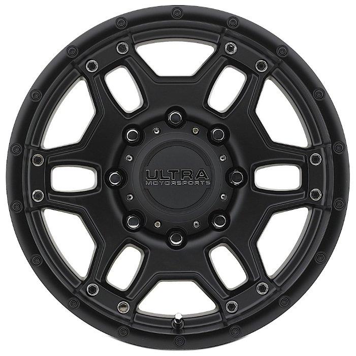 Ultra Wheel 178 Mongoose 8x16/8x165.1 D125.2 ET-6 Satin Black фото, картинка slide3