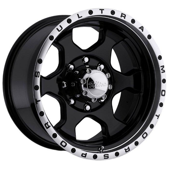 Ultra Wheel 175 Rogue 10x17/8x170 D130.18 ET-25 Gloss Black