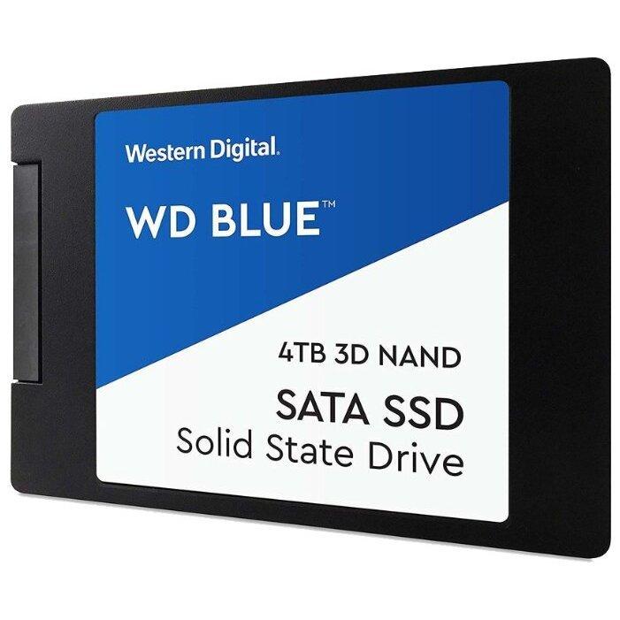 Western Digital WD BLUE 3D NAND SATA SSD 4 TB (WDS400T2B0A)