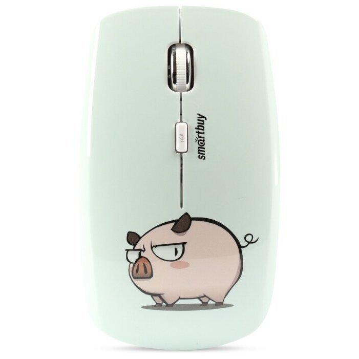 SmartBuy SBM-327AG-P3-FC White-Pink USB