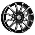 K&K Сиеста 5x13/4x100 D67.1 ET35 Алмаз черный