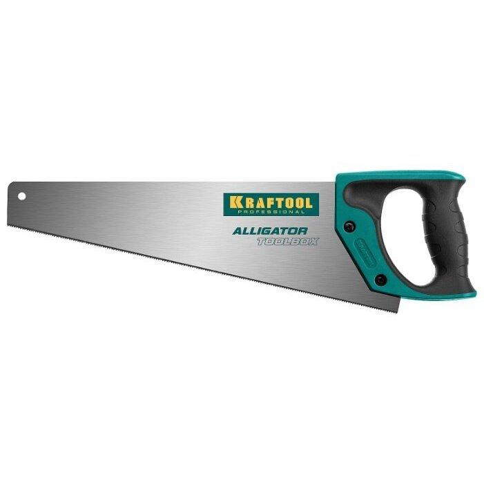 Ножовка по дереву Kraftool Alligator Toolbox 15227-35 350 мм