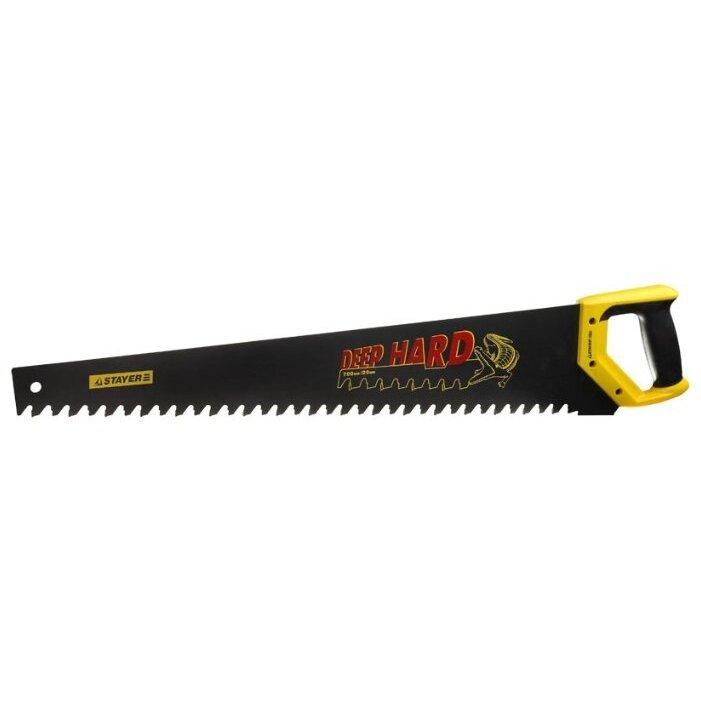 Ножовка по ячеистому бетону STAYER Deep Hard 2-15097 700 мм
