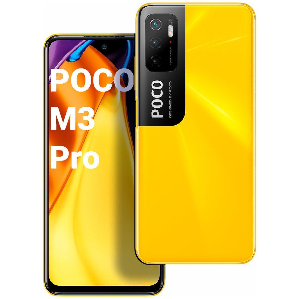 Xiaomi POCO M3 Pro 4GB+64GB NFC Yellow
