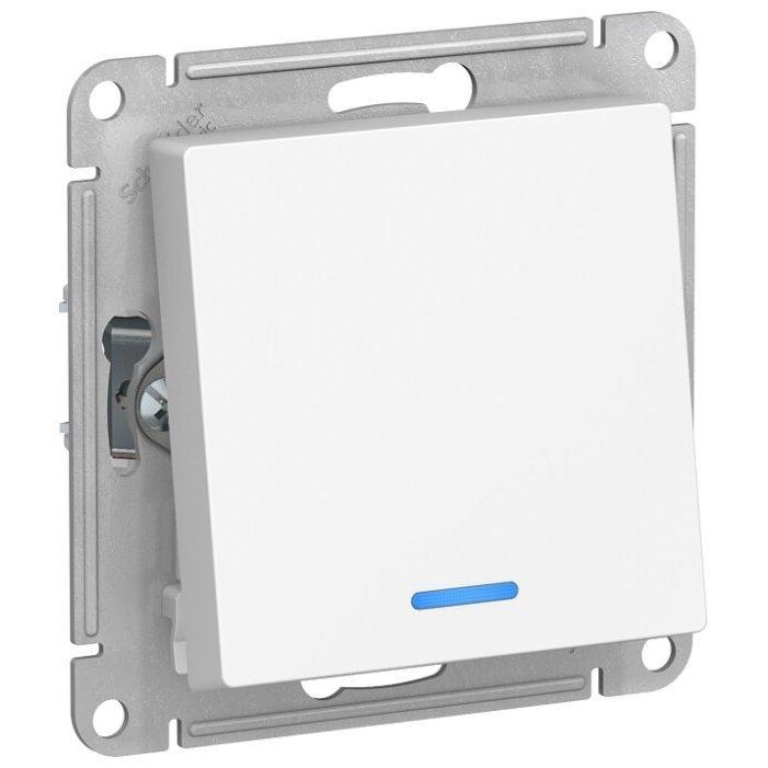 Переключатель (с 2-х мест) Schneider Electric AtlasDesign ATN000163,10А, белый