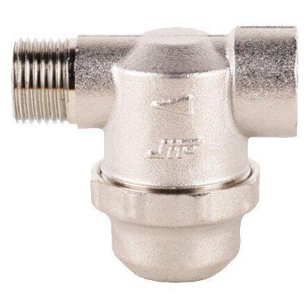 механической очистки JIF 316 муфтовый (ВР/НР), латунь, со сливом