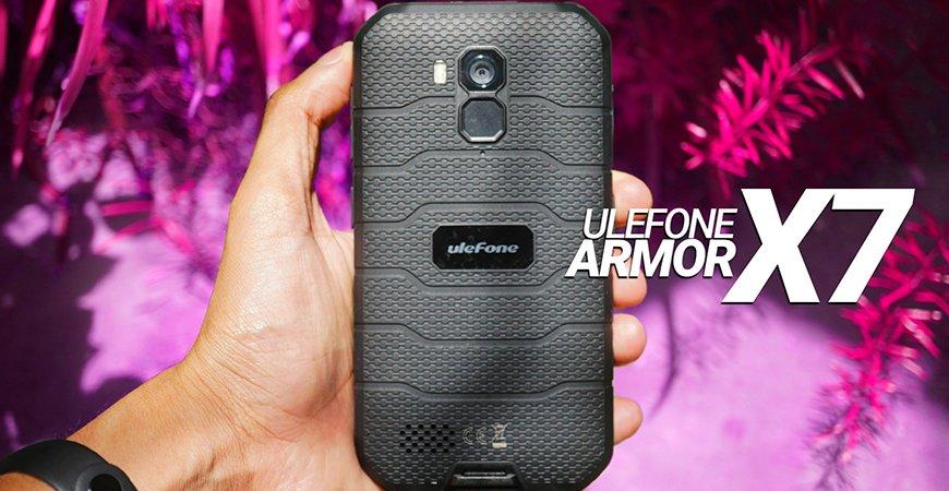 Обзор смартфона Ulefone Armor X7 - неубиваемый, бронированный гаджет