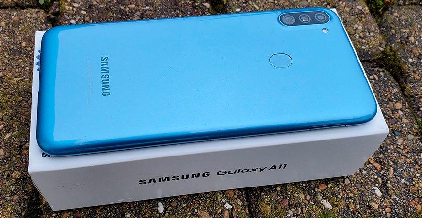 Обзор смартфона Samsung Galaxy A11